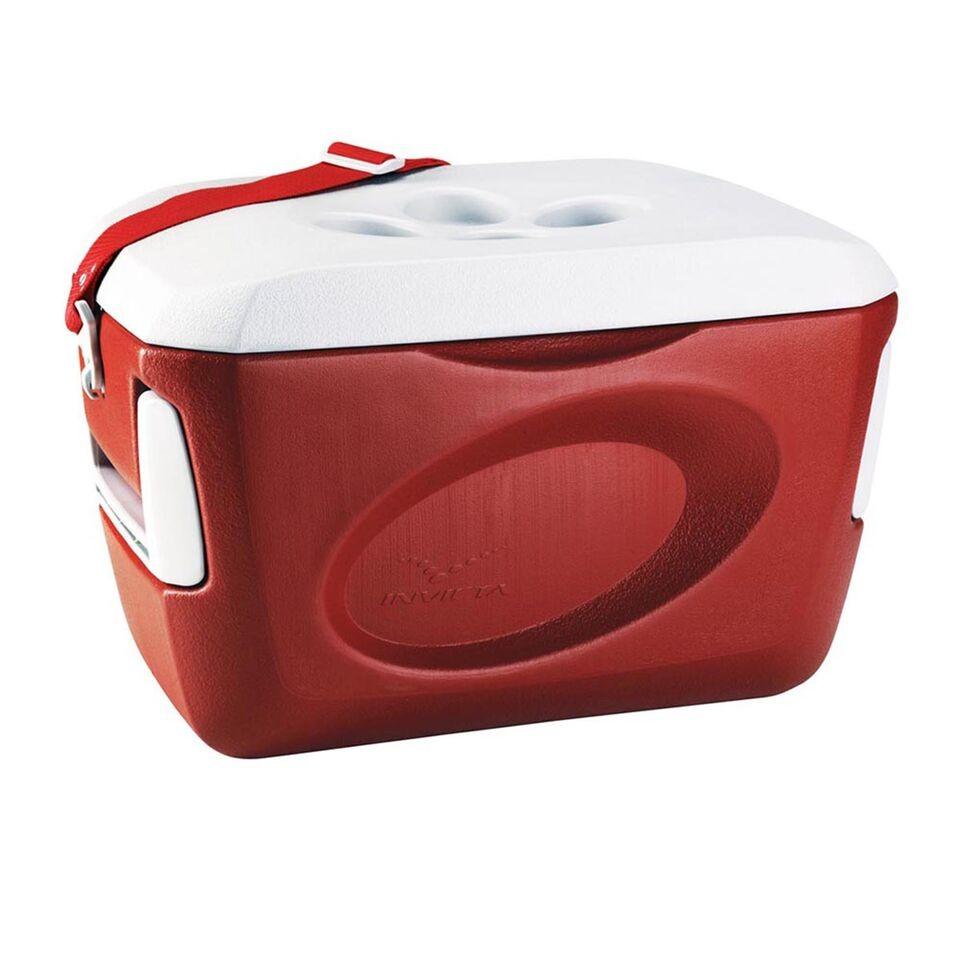 Caixa Térmica 24 litros vermelha - INVICTA