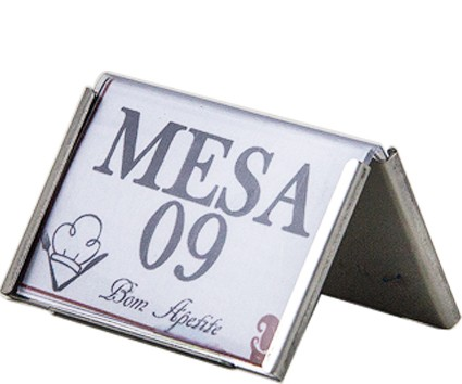 Display mesa mini inox - ALLISSAN