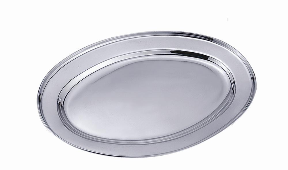 Travessa oval 25cm inox - CLASS HOME