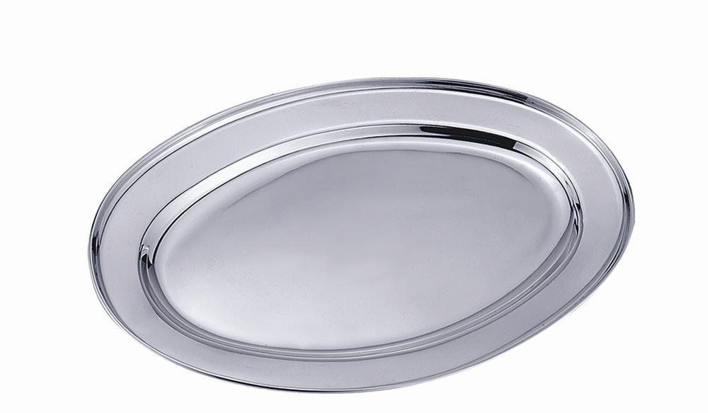 Travessa oval 30cm inox - CLASS HOME