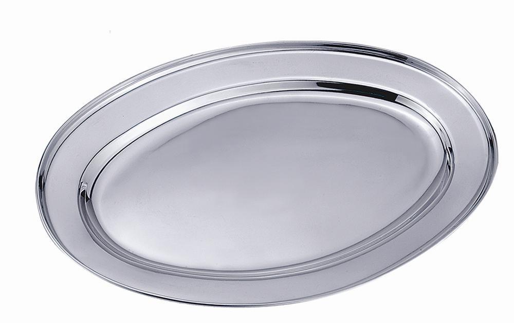 Travessa oval 40cm inox - CLASS HOME