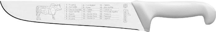 FACA PASSADOR 8' BRANCA  - MUNDIAL