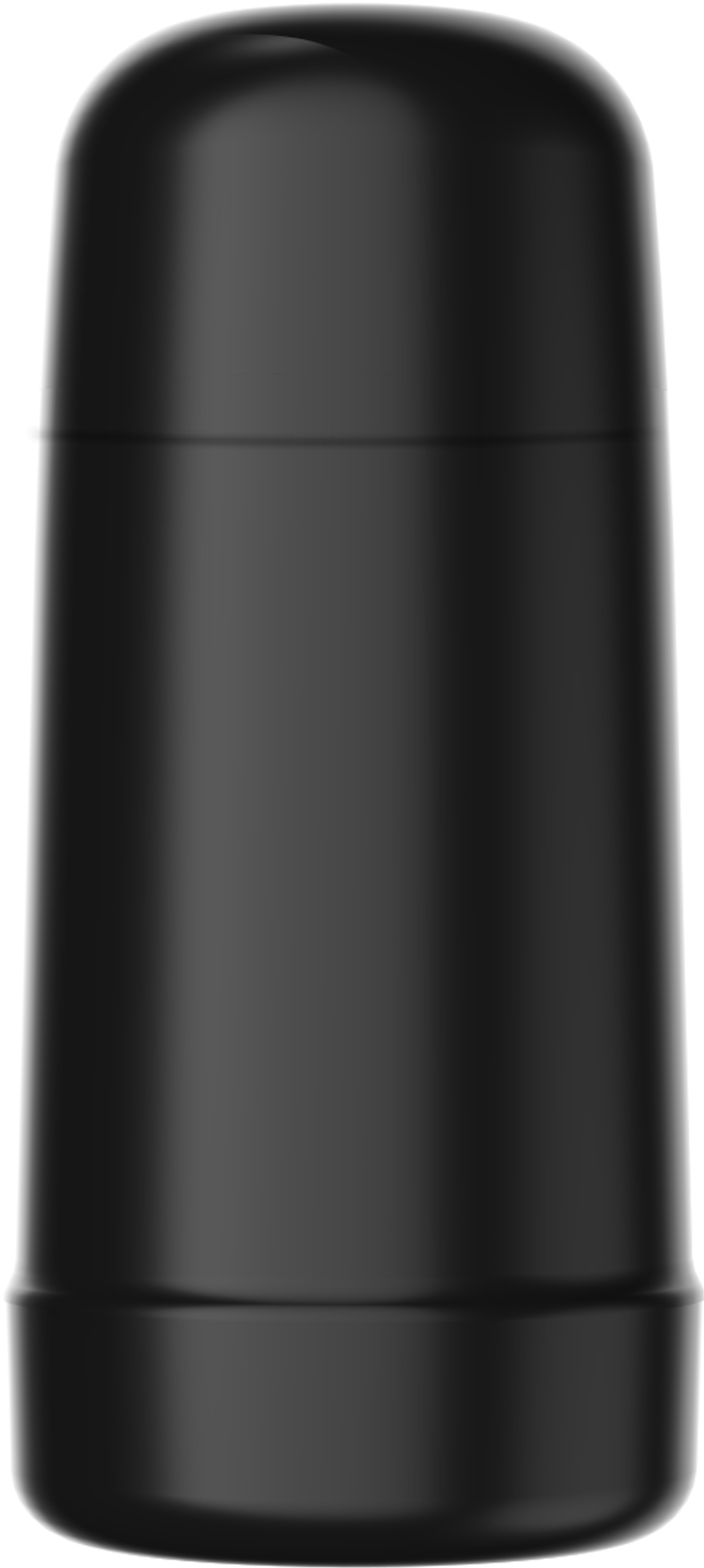 Garrafa Termica Minigarbo Preto 250ml Rolha Clean - Termolar