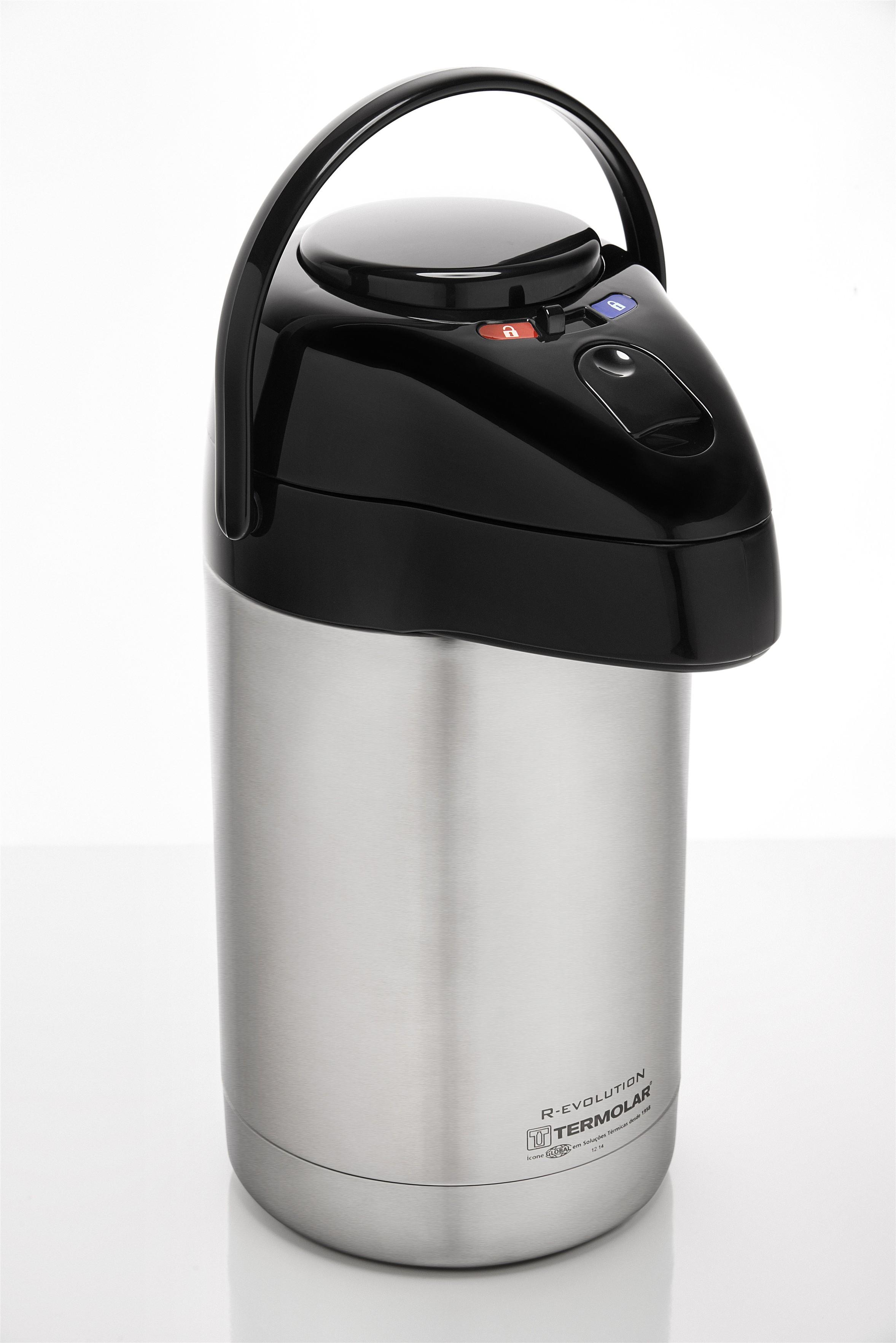 Garrafa Térmica 100% Inox R-Evolution 2.5L - TERMOLAR