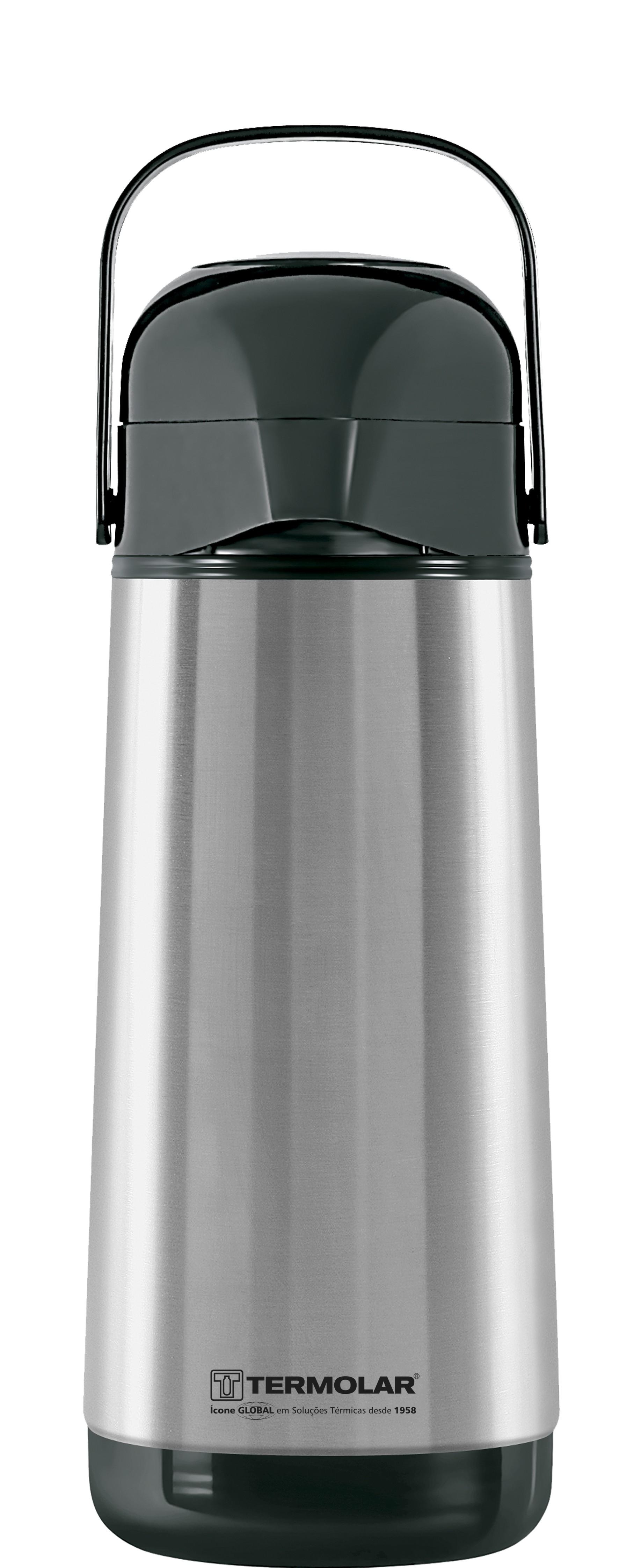 Garrafa Térmica Lúmina 1 litro INOX - TERMOLAR