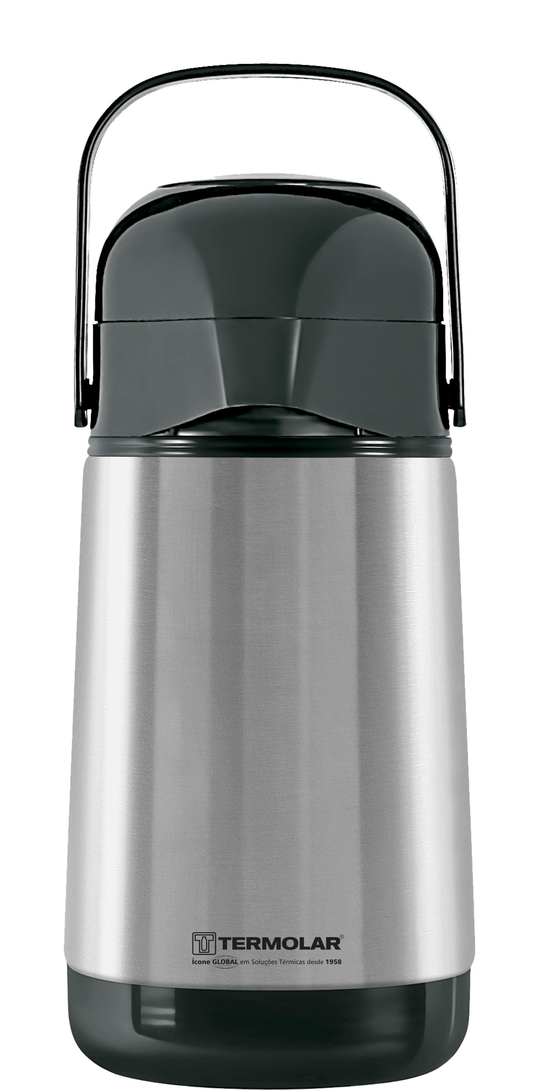 Garrafa Térmica Lúmina 0,5 litros INOX - TERMOLAR