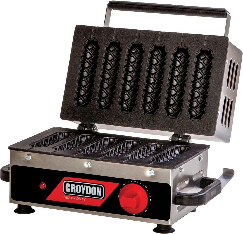 Máquina de crepe para 6 crepes CRPG 220V  - CROYDON