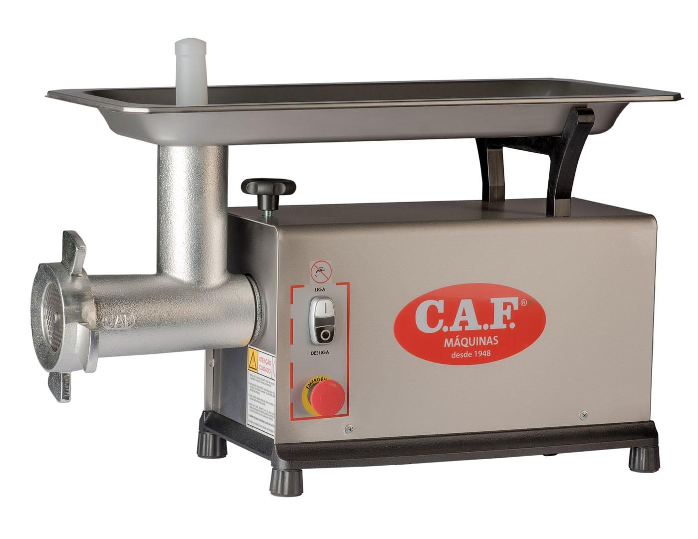 Picador de Carne boca 22 Sm parcial Inox 220V - CAF