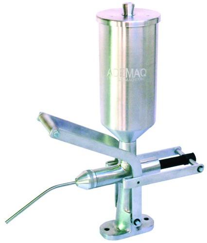 Doceira / Recheadeira Copo em Alumínio 2 Litros - ADEMAQ