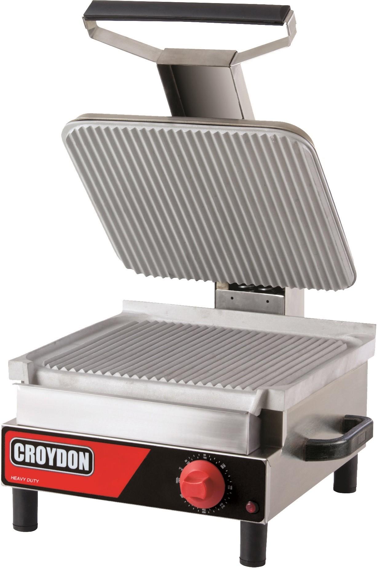 Sanduicheira Eletrica Simples (Chapa Estriada) 220V - Croydon