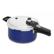 Panela de Pressão Nigro Eterna Azul 4,5 litros - NIGRO