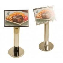 DISPLAY COM PEDESTAL GG INOX ALLISSAN