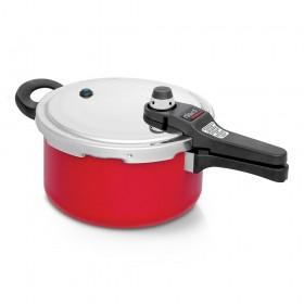 Panela de Pressão Nigro Eterna Vermelha 4,5 litros - NIGRO