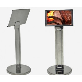 Display com pedestal grande inox Allissan