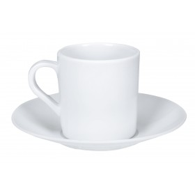 XÍCARA E PIRES CAFÉ MELAMINe BRANCA - YAZI