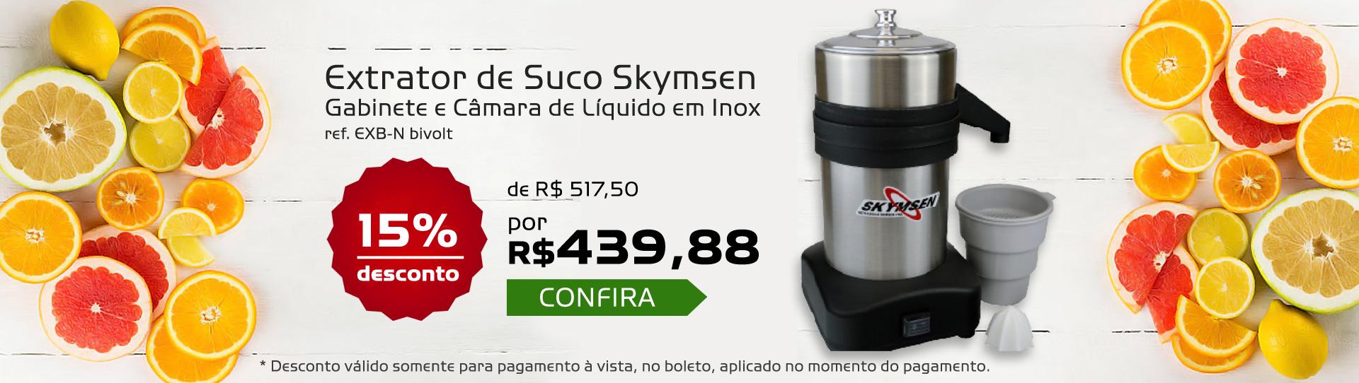 Extrator de Suco Inox