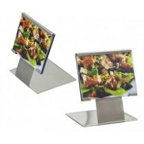 Display com pedestal mini inox Allissan
