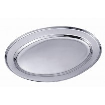 Travessa oval 45cm inox - CLASS HOME